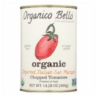 Organico Bello Tomatoes - Organic - Chopped - Case of 12 - 14.28 oz - Case of 12- 14.28 OZ each