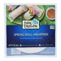 Blue Dragon - Wrappers - Spring Roll - Case of 12 - 4.7 oz - Case of 12 - 4.7 OZ each