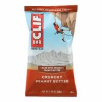 Clif Bar - Organic Crunch Peanut Butter - Case of 12 - 2.4 oz - Case of 12 - 2.4 OZ each
