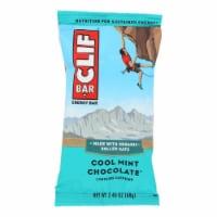 Clif Bar - Organic Cool Mint Chocolate - Case of 12 - 2.4 oz - Case of 12 - 2.4 OZ each