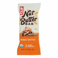 Clif Bar Organic Nut Butter Filled Energy Bar - Peanut Butter - Case of 12 - 1.76 oz. - Case of 12 - 1.76 OZ each