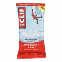 Clif Bar Peppermint Bark Energy Bar - Case of 12 - 2.4 OZ - Case of 12 - 2.4 OZ each