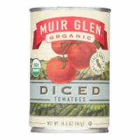 Muir Glen Organic Tomatoes Diced - Tomatoes - Case of 12 - 14.5 oz. - Case of 12 - 14.5 OZ each