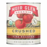 Muir Glen Fire Roasted Crushed Tomato - Tomato - Case of 12 - 28 oz. - Case of 12 - 28 OZ each