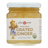 The Ginger People Organic Ginger - Grated - Case of 12 - 6.7 oz. - Case of 12 - 6.7 OZ each