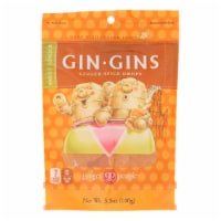 The Ginger People Gin Gins Ginger Spice Drops  - Case of 12 - 3.5 OZ