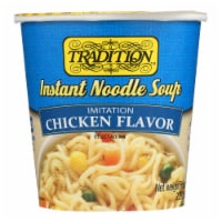 Tradition Foods Instant Noodle Soup - Chicken - Case of 12 - 2.29 oz. - Case of 12 - 2.29 OZ each