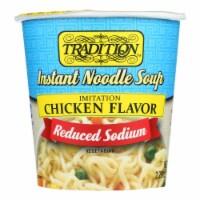 Tradition Foods Instant Noodle Soup - Case of 12 - 2.29 OZ - Case of 12 - 2.29 OZ each