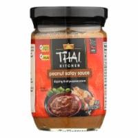 Thai Kitchen Peanut Satay Sauce - Case of 12 - 8 Fl oz. - Case of 12 - 8 FZ each