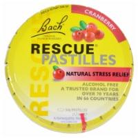 Bach Rescue Remedy Pastilles - Cranberry - 50 grm - Case of 12 - Case of 12 - 50 GRM each