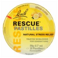 Bach Rescue Remedy Pastilles - Lemon - 50 grm - Case of 12 - Case of 12 - 50 GRM each