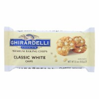 Ghirardelli Classic White Baking Chips - Case of 12 - 11 oz. - Case of 12 - 11 OZ each