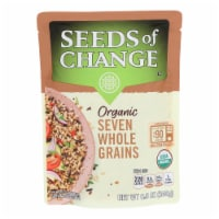 Seeds of Change Organic Microwavable Seven Whole Grains - Case of 12 - 8.5 oz. - Case of 12 - 8.5 OZ each