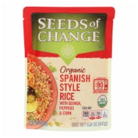 Seeds of Change Organic Microwavable Spanish Style Rice with Quinoa - Case of 12 - 8.5 oz. - Case of 12 - 8.5 OZ each