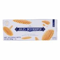 Jules Destrooper - Cookies - Butter Waffles - Case of 12 - 3.52 oz. - Case of 12 - 3.52 OZ each