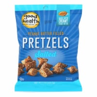 Good Health Butter Pretzels - Peanut Salted - Case of 12 - 5 oz.