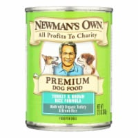 Newman's Own Organics Premium Turkey and Brown Rice - Case of 12 - 12.7 oz. - Case of 12 - 12.7 OZ each