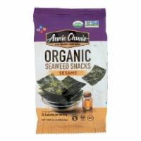 Annie Chun's Seaweed Snack - Sesame - Case of 12 - .16 oz.