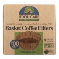 If You Care Coffee Filters - Basket - Case of 12 - 100 Count - Case of 12 - 100 CT each