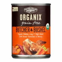 Castor and Pollux Organic Dog Food - Chicken Wing and Thigh - Case of 12 - 12.7 oz. - Case of 12 - 12.7 OZ each