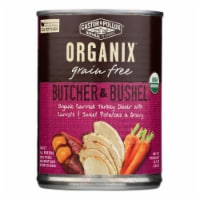 Castor and Pollux Org Dog Food - Turkey Dinner w Fresh Carrots n Sweet Potats -12Case-12.7oz - Case of 12 - 12.7 OZ each