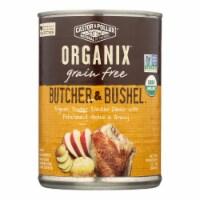 Castor and Pollux Organic Butcher n Bushel Dog Food-Tender Chicken-Case of 12 - 12.7 oz.