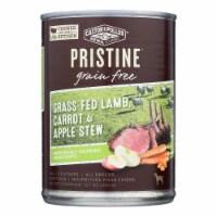 Castor & Pollux Dog Food Prstine Grain-Free Grass-Fed Lamb Carrot,Apple Stew-12Case-12.7oz - Case of 12 - 12.7 OZ each