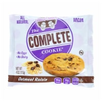 Lenny and Larry's The Complete Cookie - Oatmeal Raisin - 4 oz - Case of 12 - Case of 12 - 4 OZ each