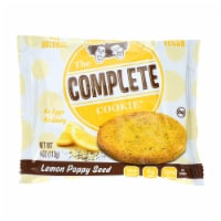 Lenny and Larry's The Complete Cookie - Lemon Poppyseed - 4 oz - Case of 12 - Case of 12 - 4 OZ each