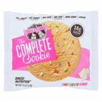 Lenny And Larry's The Complete Cookie Birthday Cake - Case of 12 - 4 OZ - Case of 12 - 4 OZ each