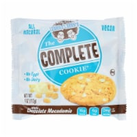 Lenny and Larry's The Complete Cookie - White Chocolate Macadamia - 4 oz - Case of 12 - Case of 12 - 4 OZ each