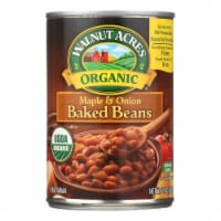 Walnut Acres Organic Baked Beans - Maple and Onion - Case of 12 - 15 oz. - Case of 12 - 15 OZ each
