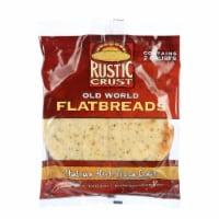 Rustic Crust Pizza Crust - Flatbreads - Italian Herb - 2 pack - 9 oz - case of 12 - Case of 12 - 9 OZ each