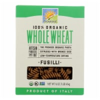 Bionaturae Pasta - Organic - 100 Percent Whole Wheat - Fusilli - 16 oz - case of 12