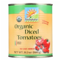 Bionaturae Tomatoes - Organic - Diced - 28.2 oz - case of 12 - Case of 12 - 28.2 OZ each