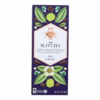 Vosges Haut-Chocolat Dark Bar - with Spirulina and Matcha Green Tea - Case of 12 - 3 oz - Case of 12 - 3 OZ each