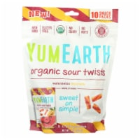 Yumearth Organics - Organic Sour Twists - Watermelon Lemonade - Case of 12 - 10/.7 oz. - Case of 12 -10/.7 OZ each