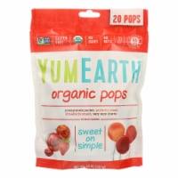 Yumearth Organics Organic - Lollipops - Case of 12 - 4.2 oz.