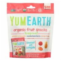 Yumearth Organics Organic - Raspberry - Pineapple - Mango - Case of 12 - 3.1 oz. - Case of 12 - 3.1 OZ each