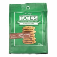 Tate's Bake Shop Itsy Bitsy Crispy Chocolate Chip Cookies  - Case of 12 - 1 OZ - Case of 12 - 1 OZ each