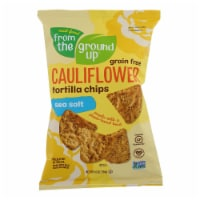 From The Ground Up - Tort Chips Clflwr Sea Salt - Case of 12 - 4.5 OZ - Case of 12 - 4.5 OZ each
