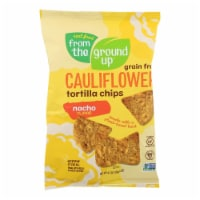 From The Ground Up - Tort Chips Clflwr Nacho - Case of 12 - 4.5 OZ - Case of 12 - 4.5 OZ each