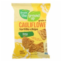 From The Ground Up - Tort Chips Clflwr Lime - Case of 12 - 4.5 OZ - Case of 12 - 4.5 OZ each