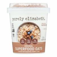 Purely Elizabeth. Original Superfood Oats  - Case of 12 - 2 OZ