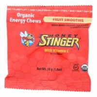 Honey Stinger Energy Chew - Organic - Fruit Smoothie - 1.8 oz - case of 12 - Case of 12 - 1.8 OZ each