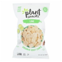 Plant Snacks - Cassava Root Chip Lime - Case of 12 - 5 OZ - Case of 12 - 5 OZ each