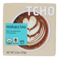 Tcho Chocolate Milk Chocolate Bar - Mokaccino - Case of 12 - 2.5 oz. - Case of 12 - 2.5 OZ each