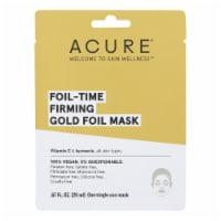 Acure - Mask - Foil - Time Firming Gold Foil Mask - Case of 12 - 0.67 fl oz. - Case of 12 - 1 EA each