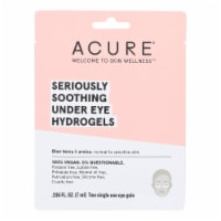 Acure - Seriously Soothing Under Eye Hydrogels - Case of 12 - 0.236 fl oz. - Case of 12 - 1 EA each