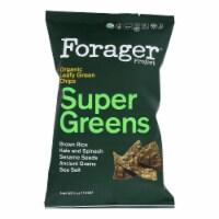 Forager Project - Super Greens Vegetable Chips - Case of 8 - 5 oz - 5 OZ